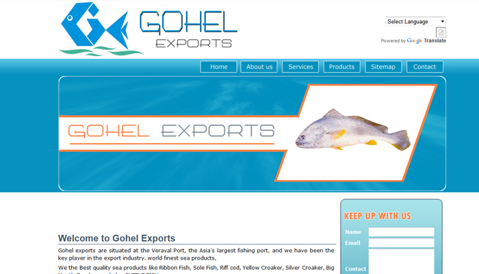 Seafoods products and marine product website from guajarat veraval