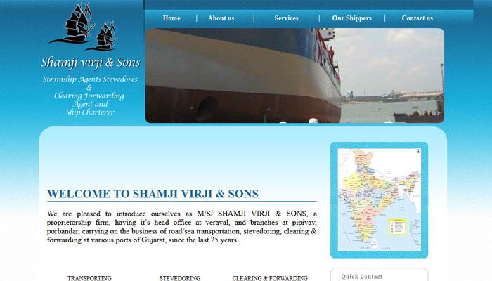 Shipping & Logistic Service from gujarat veraval bunder gir somnath