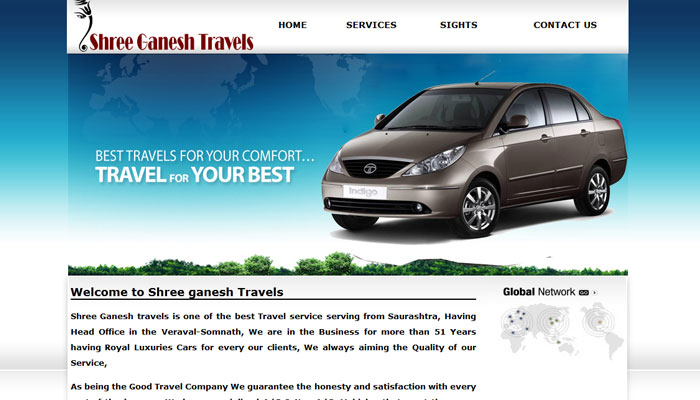 Tours and travels service in veraval gir somnath